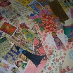 Magic Mixed Media Pack/Kit -lots of paper and art supplies and paper dolls